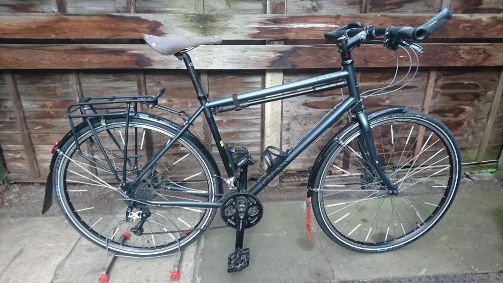 Grey Genesis Tour De Fer  54cm frame  £550.00