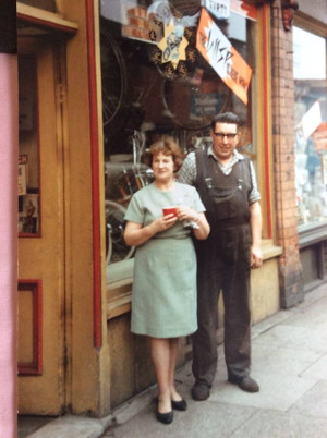 Joe Ames and his wife