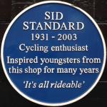 Sid Standard - blue plaque
